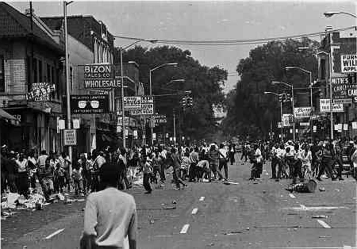 1967 RIOTS IN DETROIT