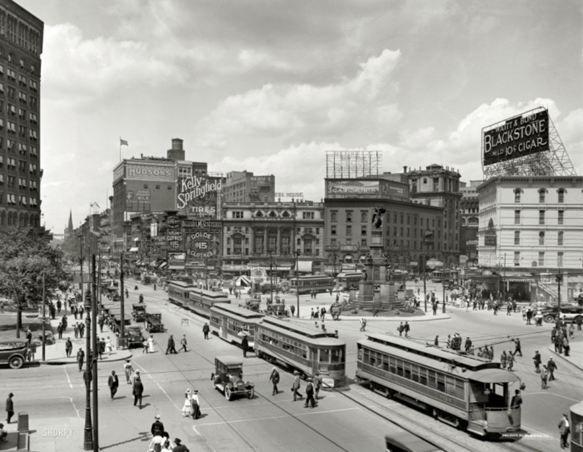 DETROIT IN THE GOOD OLD DAYS