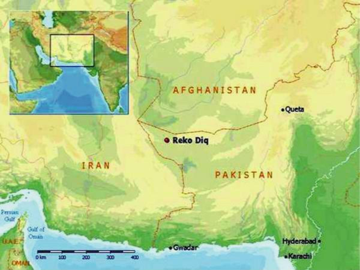 World Largest Gold and Copper Mine Reko Diq Balochistan - Pakistan