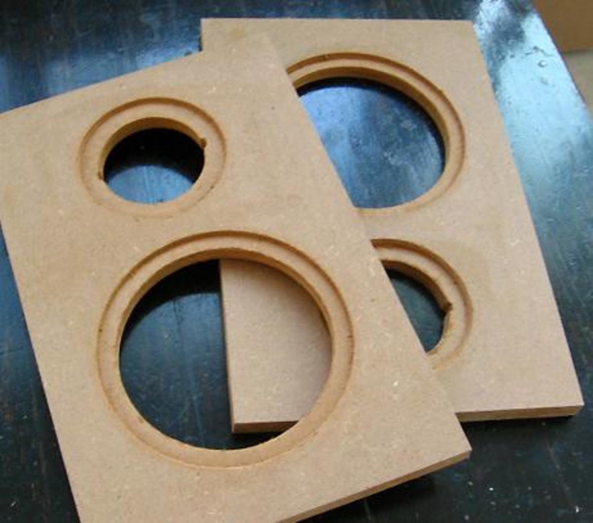 Face Board with Opened Holes