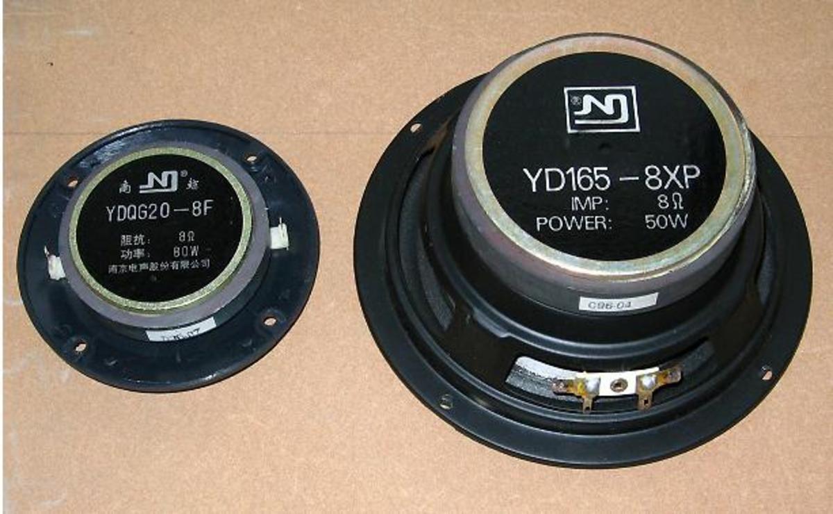 PP Pod Nanjing Speaker (Dual Cone Speakers)