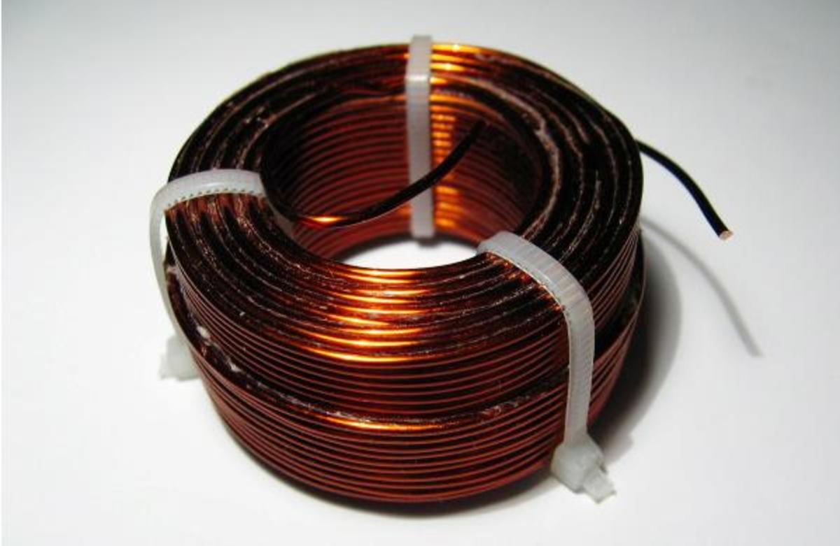 Hand Wind Inductor Coil