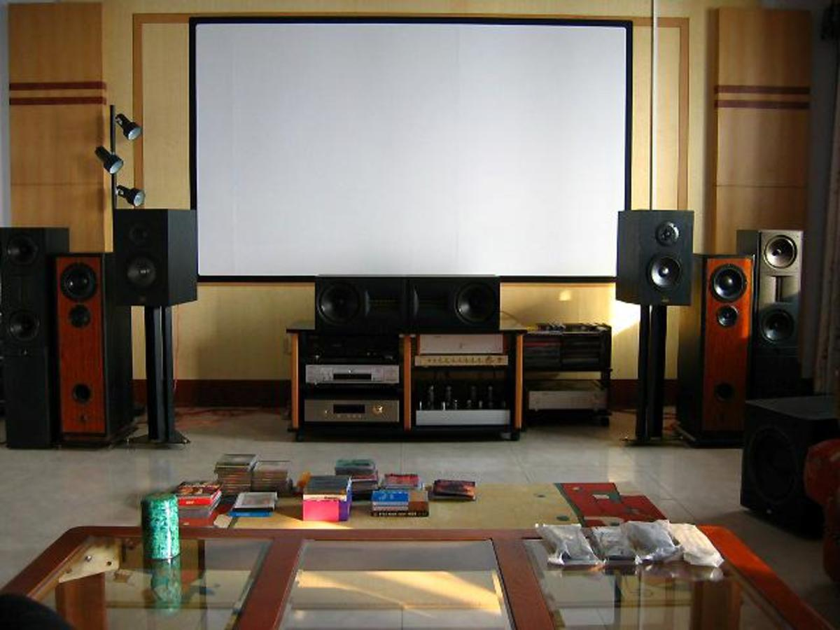 The Custom Speaker Boxes/Cabinets Part of the Home Theater Now