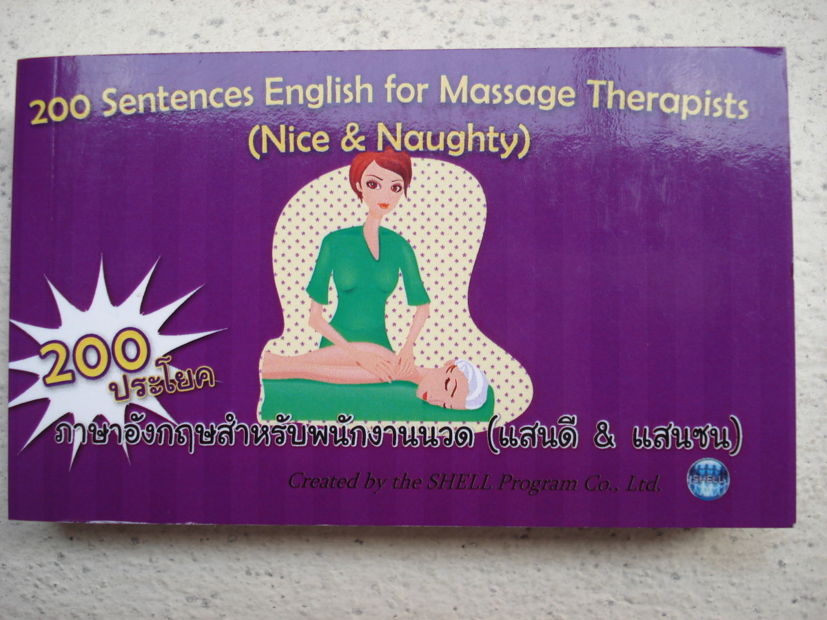 200 Sentences English for Massage Therapists