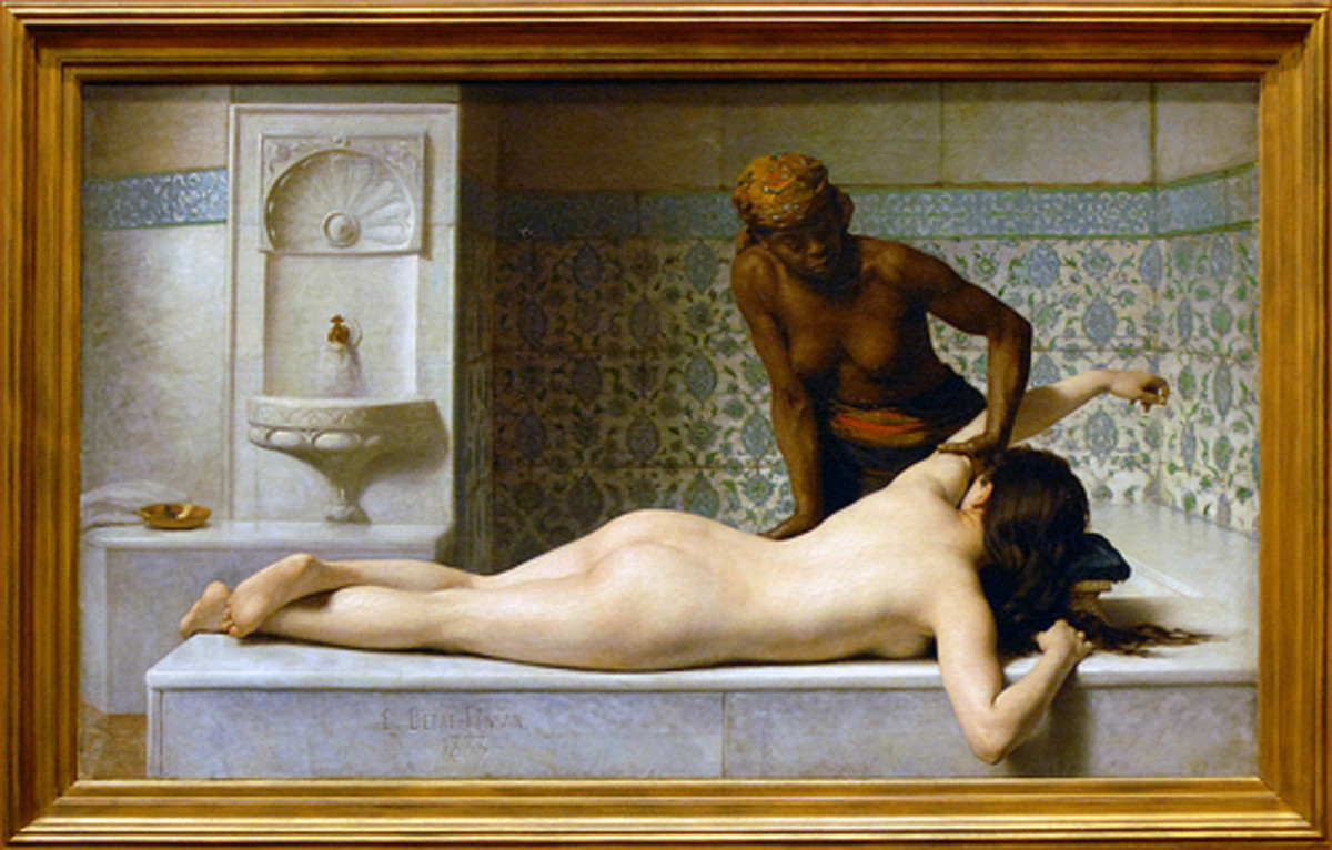 Painted by: Edouard DEBAT-PONSAN