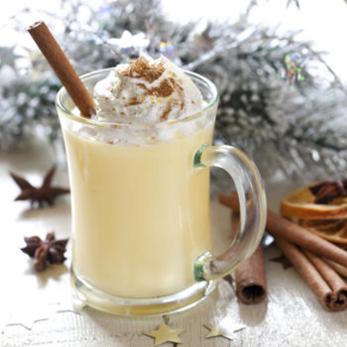 This is real christmas eggnog