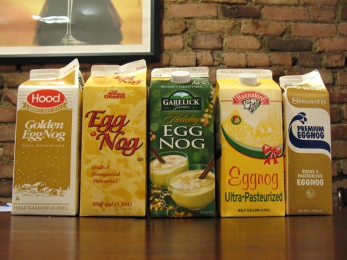 The Best Christmas Eggnog  in the World