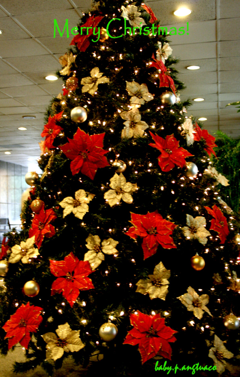 The Colors of Christmas: Red, Green and Gold