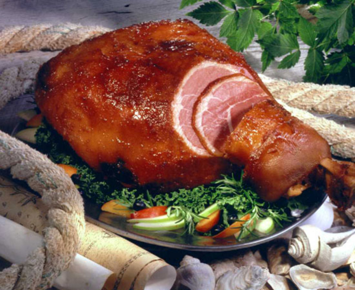 Best Christmas Ham - Country-cured and smoked Ham