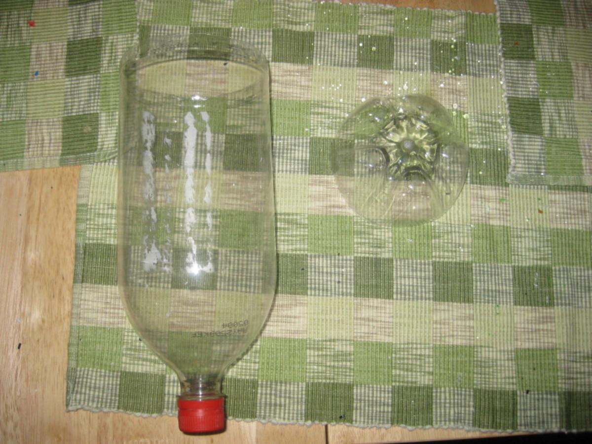 2-liter plastic soda bottle