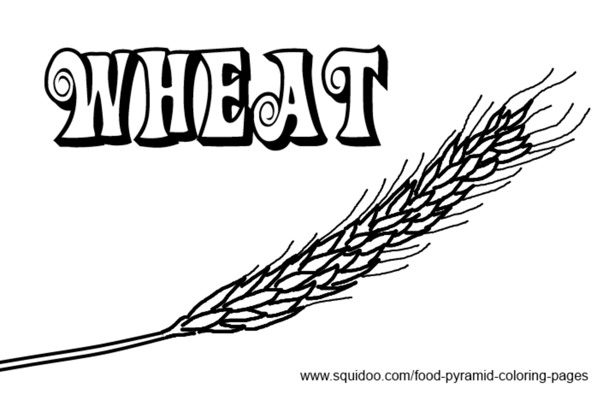 wheat coloring pages - photo#15