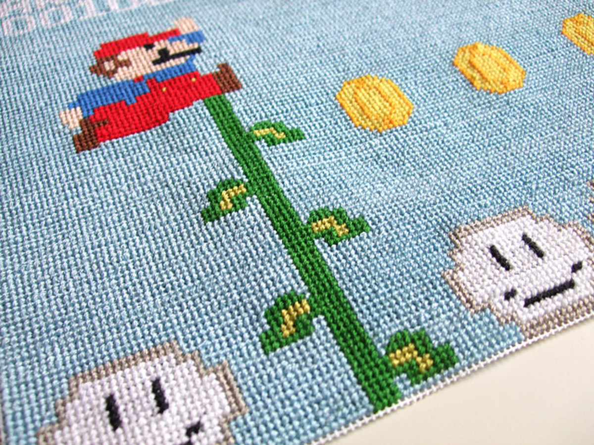 Awesome Super Mario artwork.
