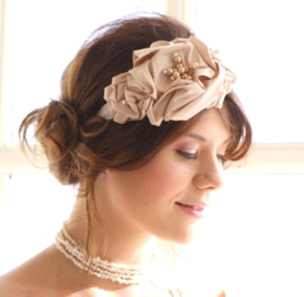 Vintage Inspired Hair Piece