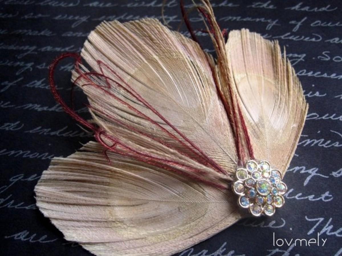 Feather Hair Ornament
