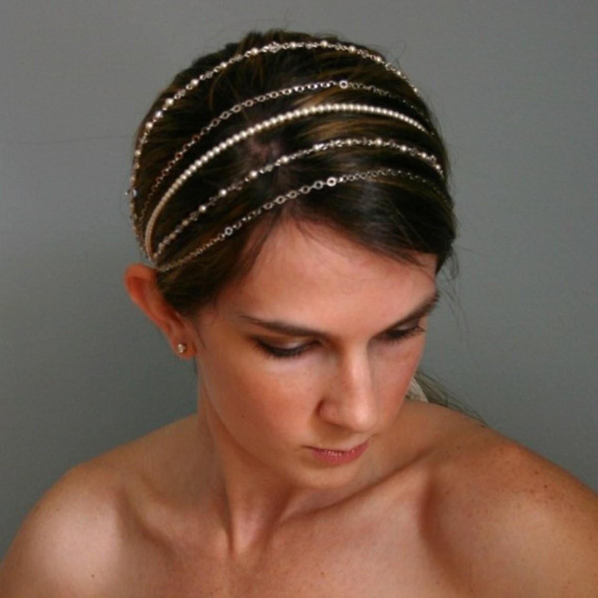 Beaded hair accessorie