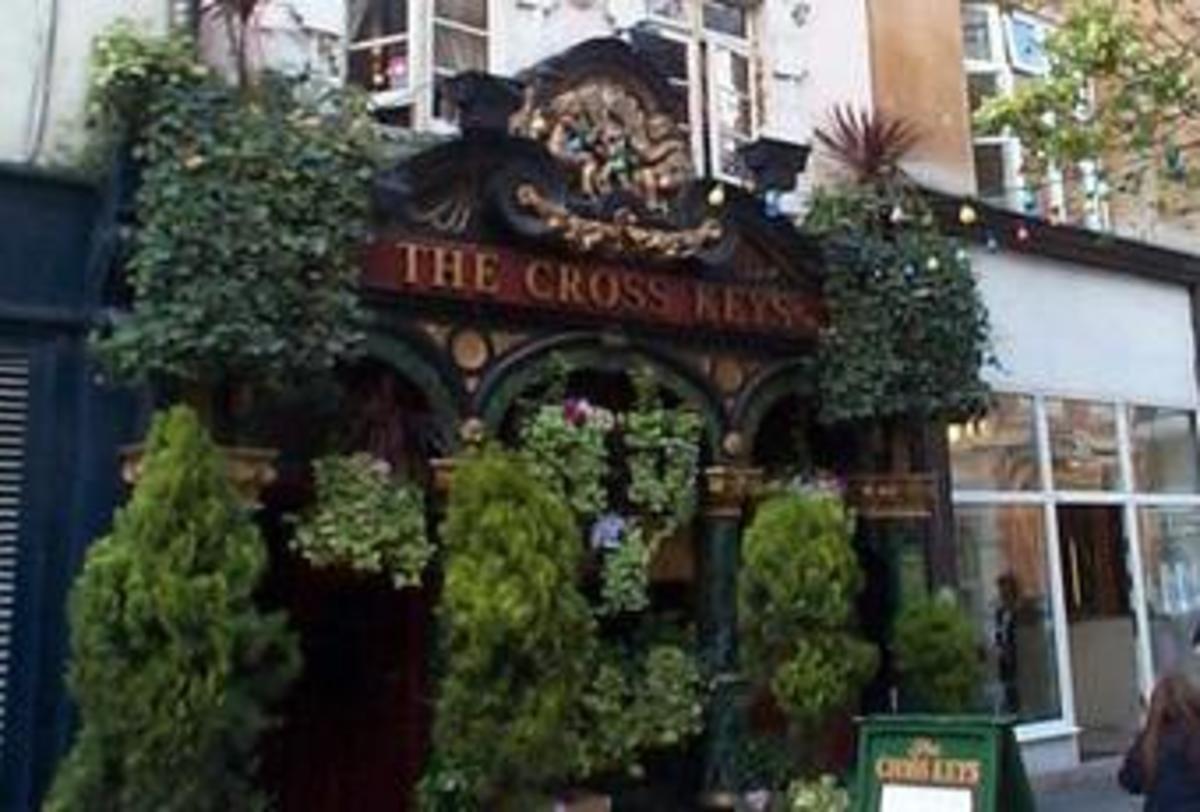 Cross Keys Pub, Covent Garden, London