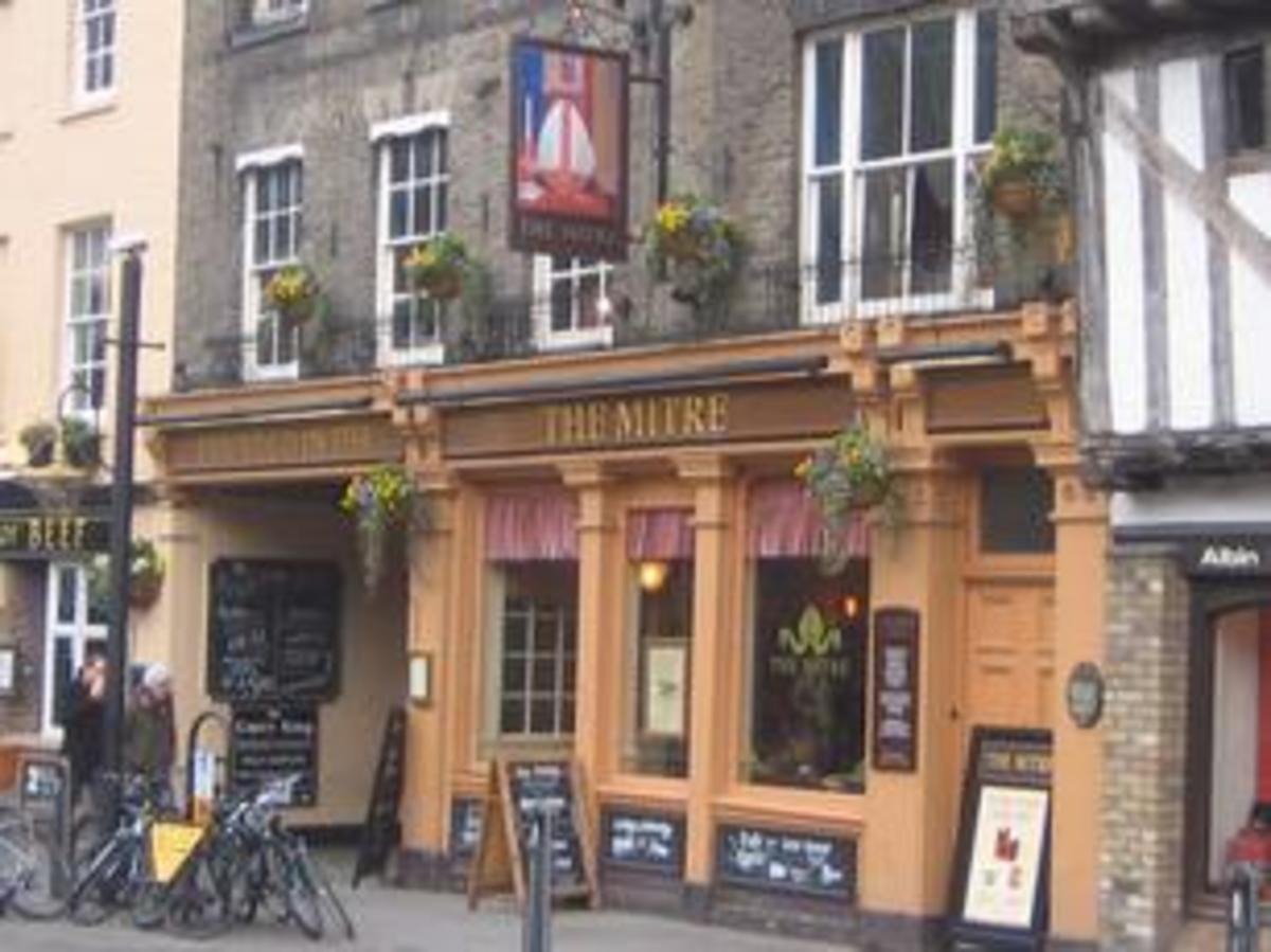 The Mitre, in Cambridge