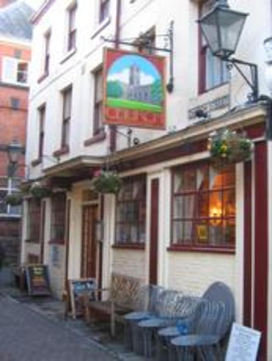 Popular Religious Pub Names in England