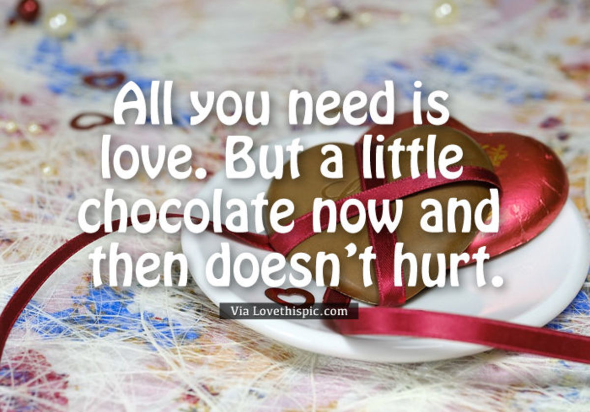 Chocolate Quotes, Fun Facts, and Recipe