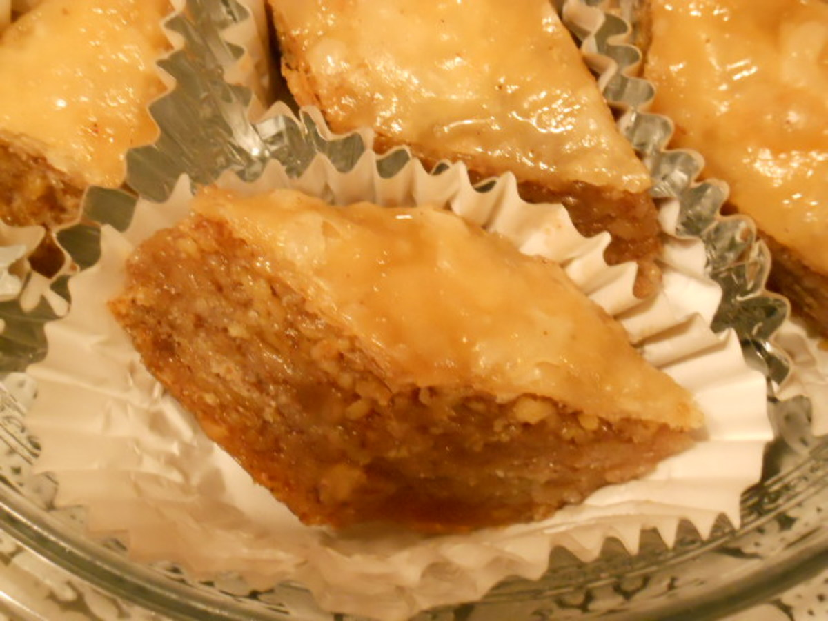 The layers of Baklava.  That is what it is all about!