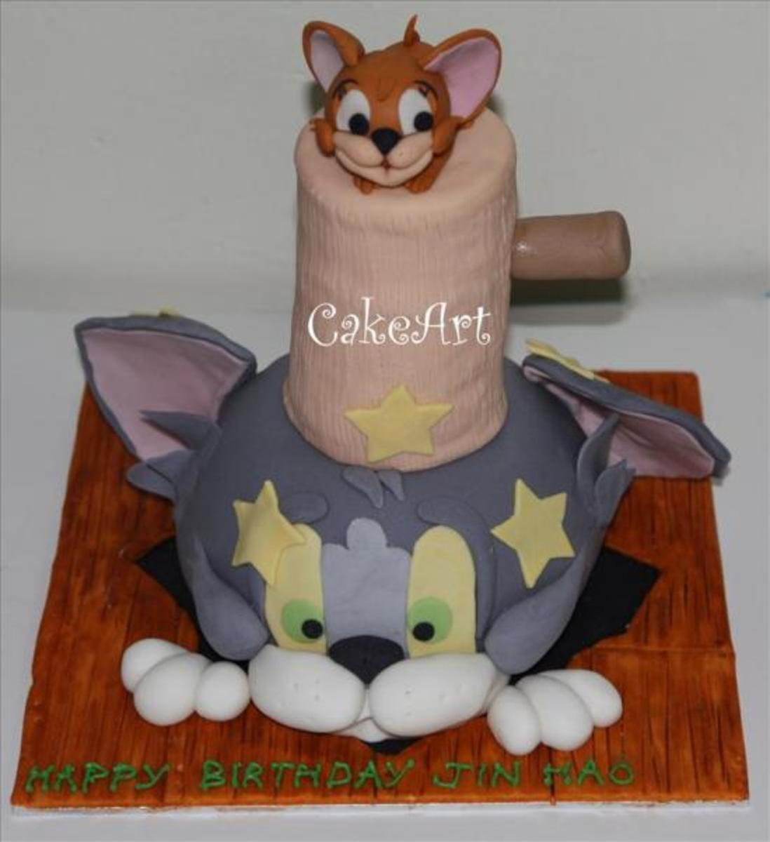 Another cake insipred by Debbie Brown collection. Looks yummy!