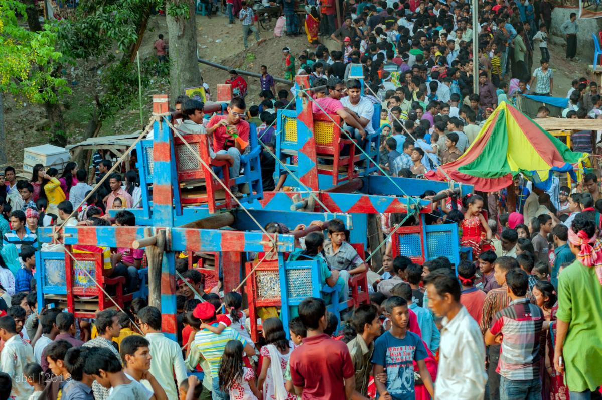 Nagor dola in Boishakhi fair