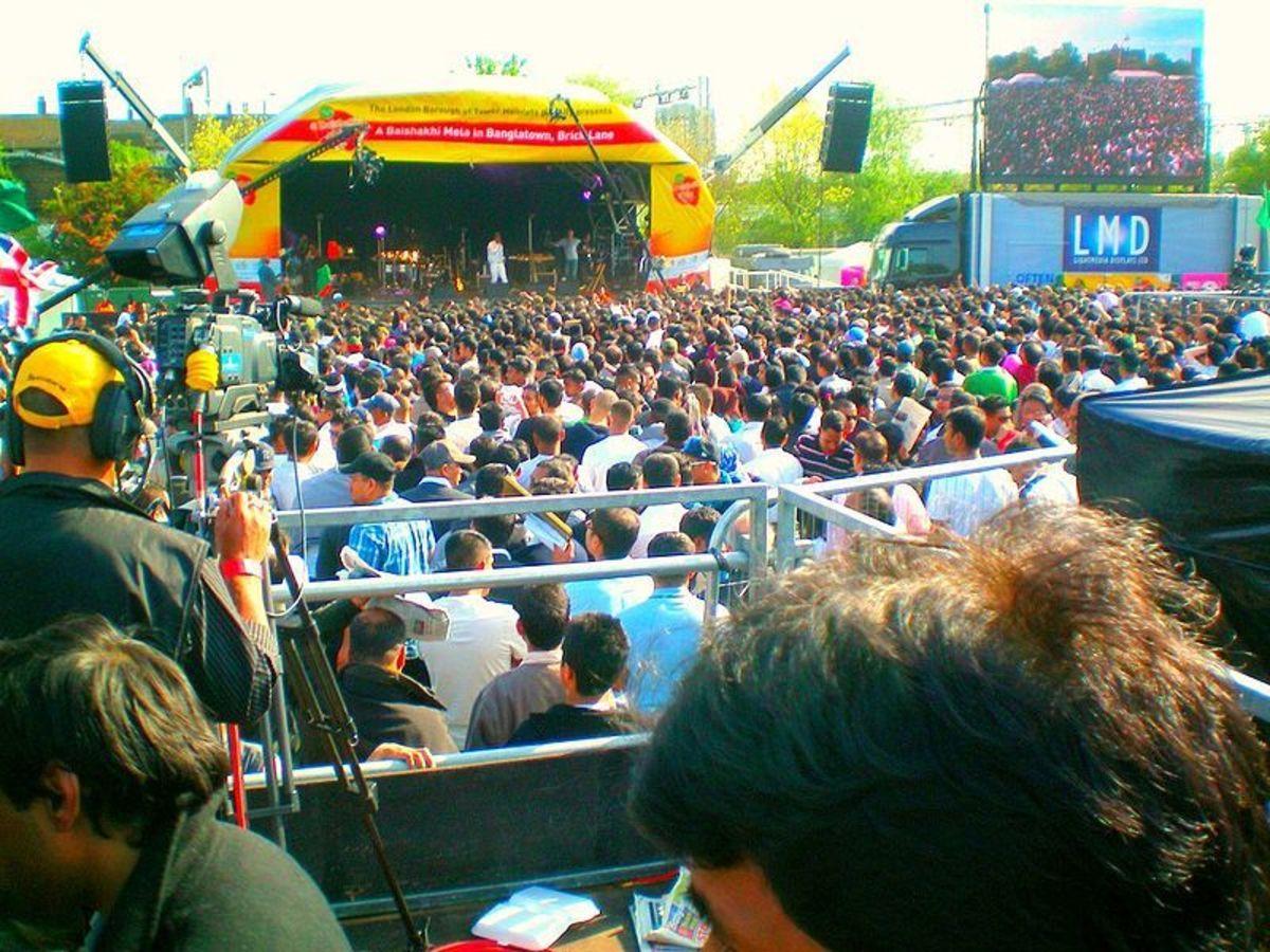 Cultural program in Boishakhi fair