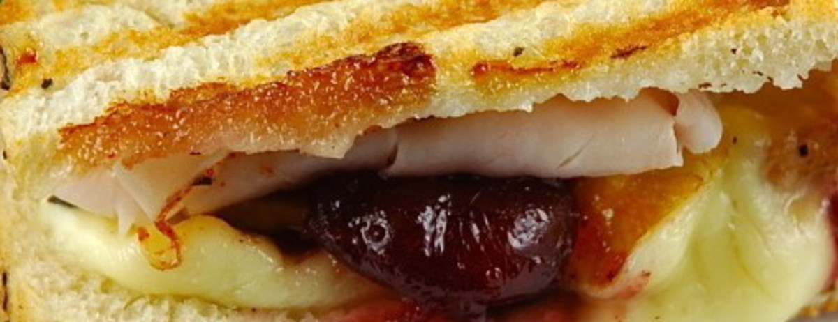 Toasted Turkey, Cranberry and Cheese Melt