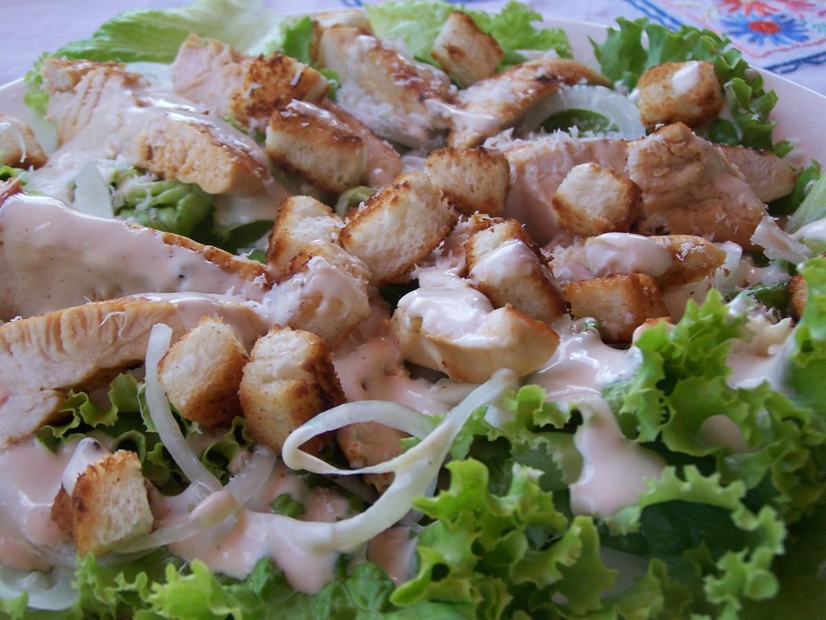 Make a Tasty Turkey Caesar Salad