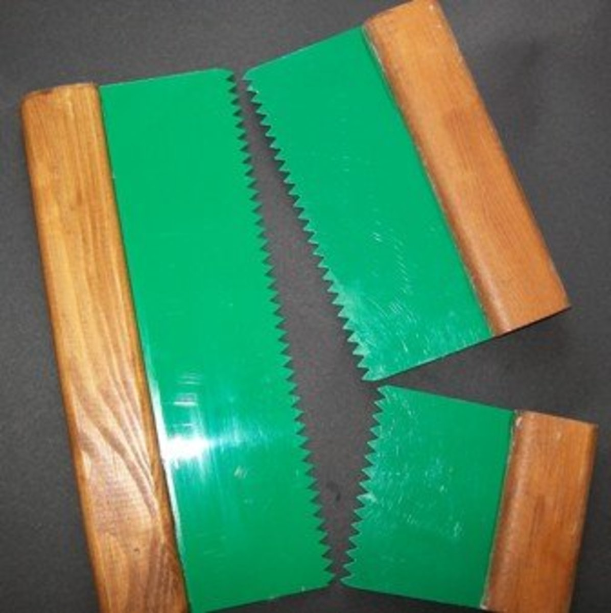 "set of 3 combs 3 standard 1x10"" 1x6.5"" 1x3.5"""