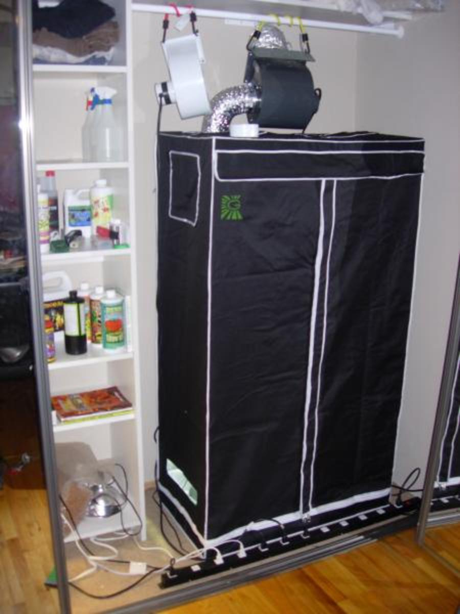 Grow Cabinet / Tent