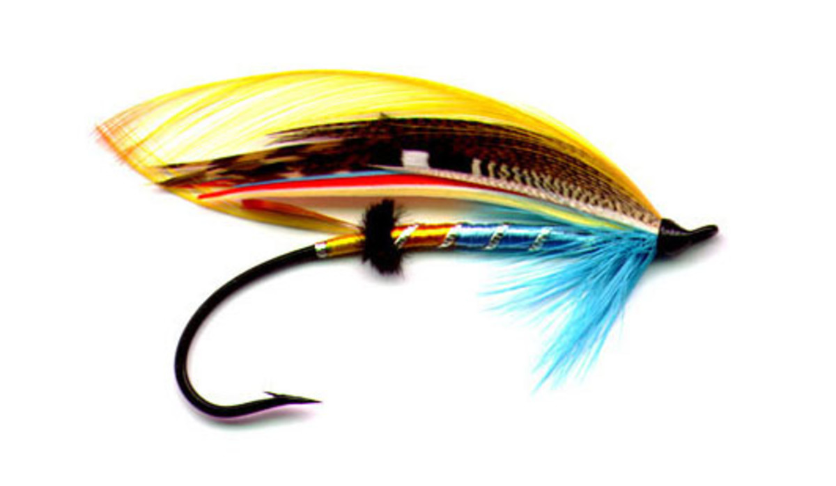 Classic Atlantic Salmon Flies- Designed To 'Catch' Fishermen, Not Fish!-This HubPage deals with my salmon flies.