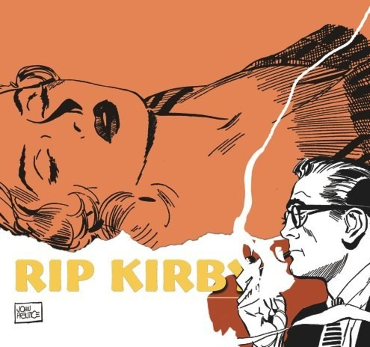 Rip Kirby Vol.6 ( Collected Daily Strips from June 8, 1959 to February 10, 1962.) IDW