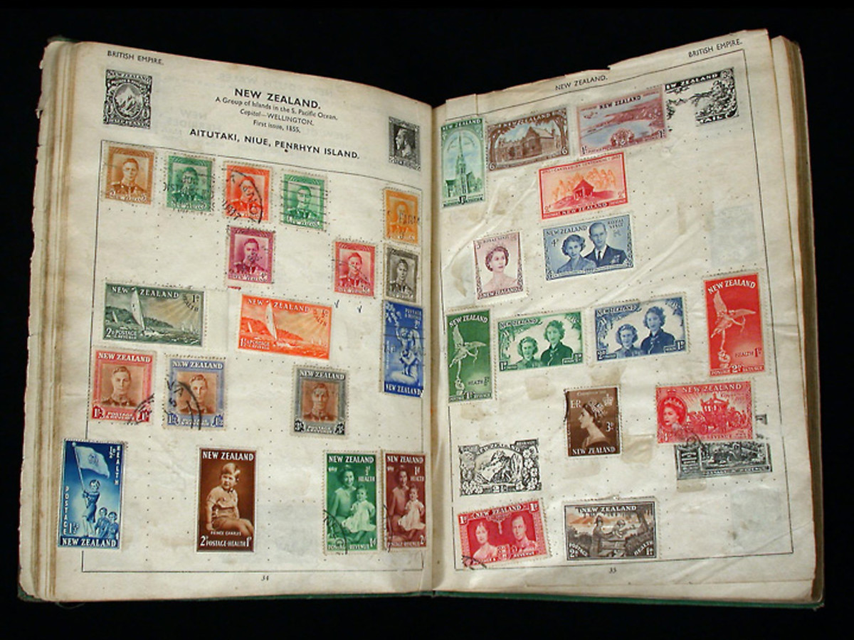 John Lennon's Stamp Collection