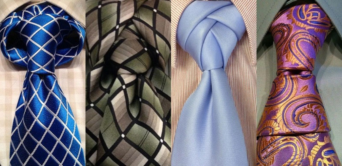 How to tie a tie properly using the windsor knot hubpages a few different tie knots ccuart Image collections