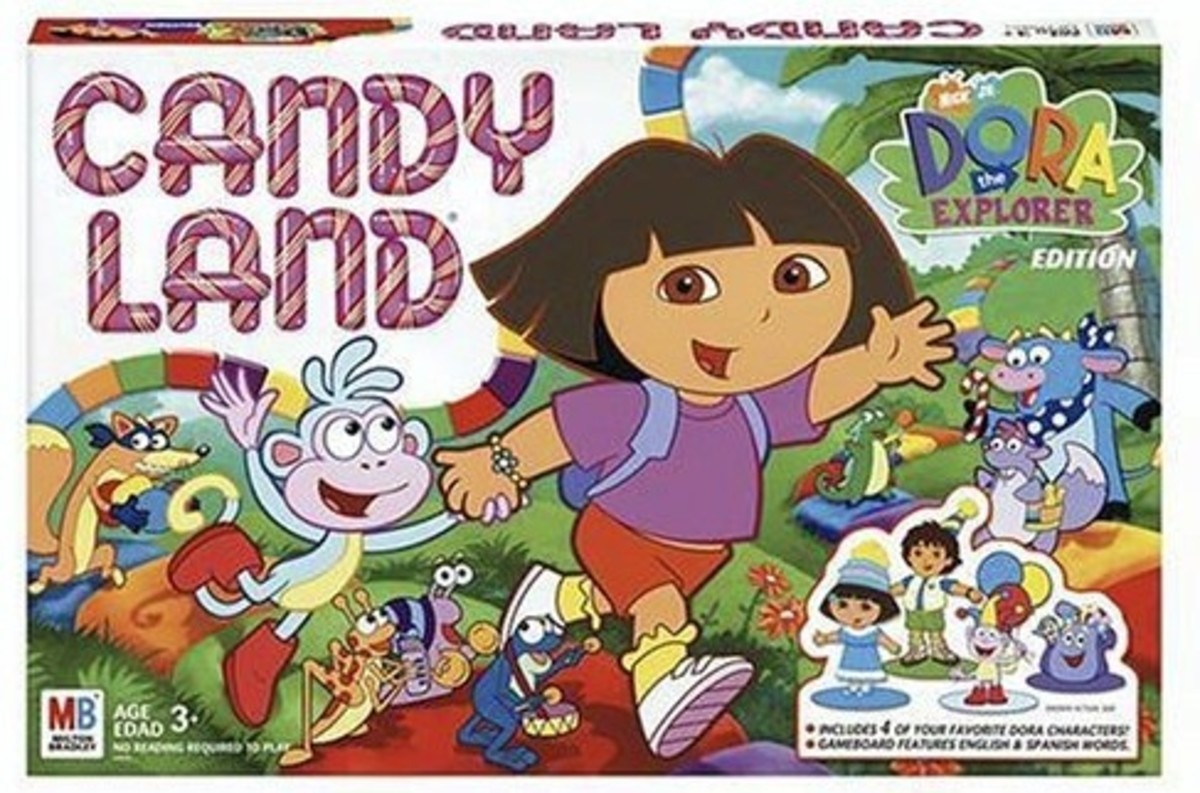 Candyland board game for 4 year old boys