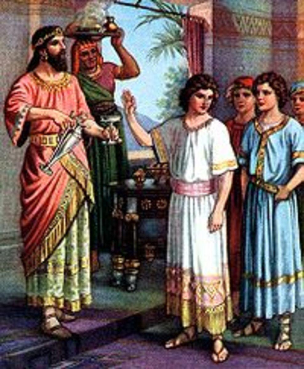 Daniel refusing the king meal
