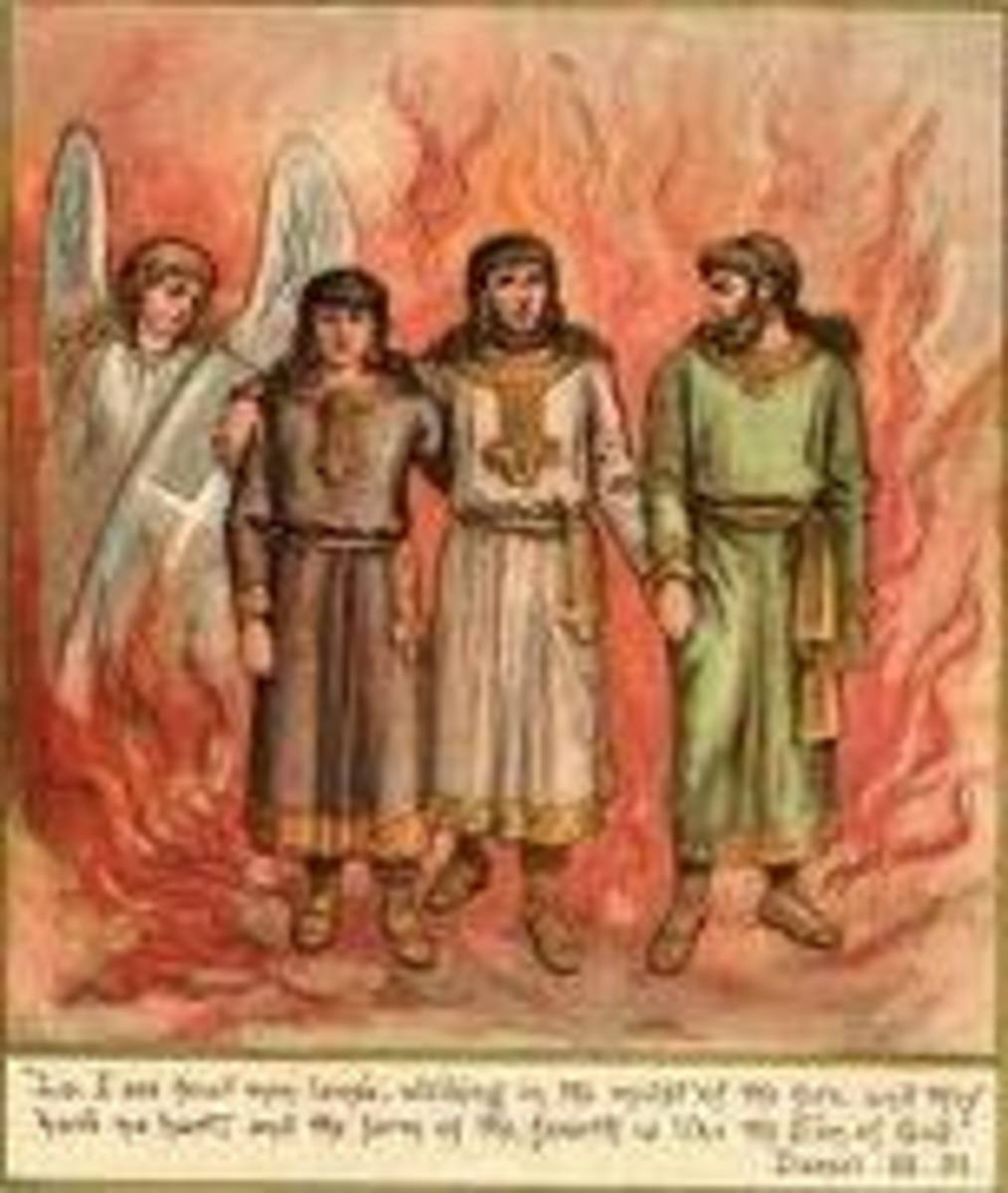 The 3 Hebrew boys & God