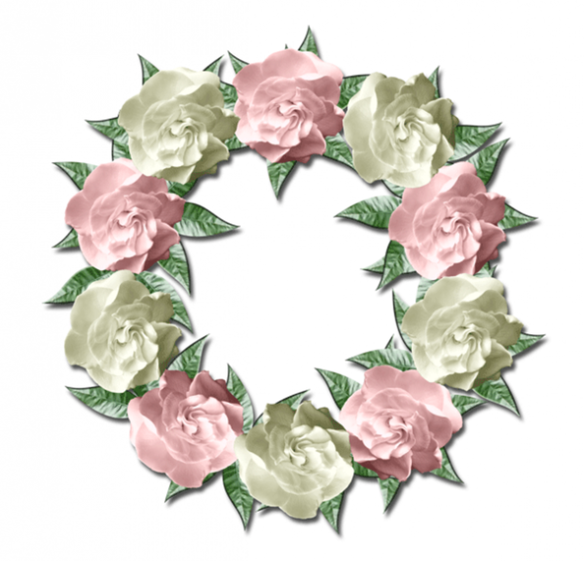 Spring Clip Art Wreath