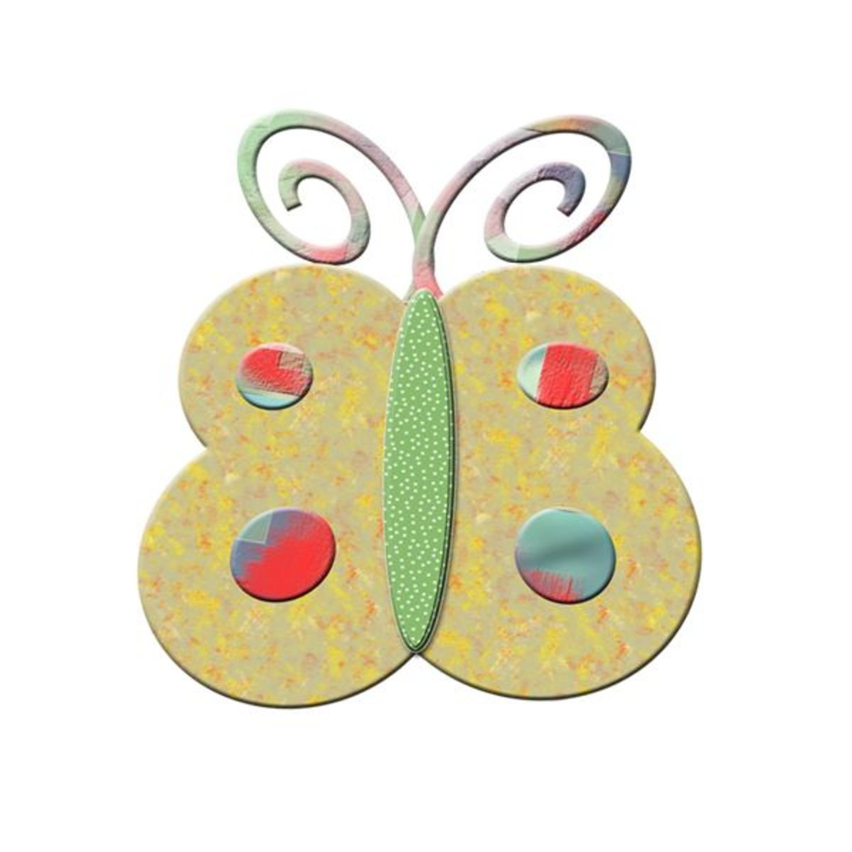 Click here for more free butterfly clip art!