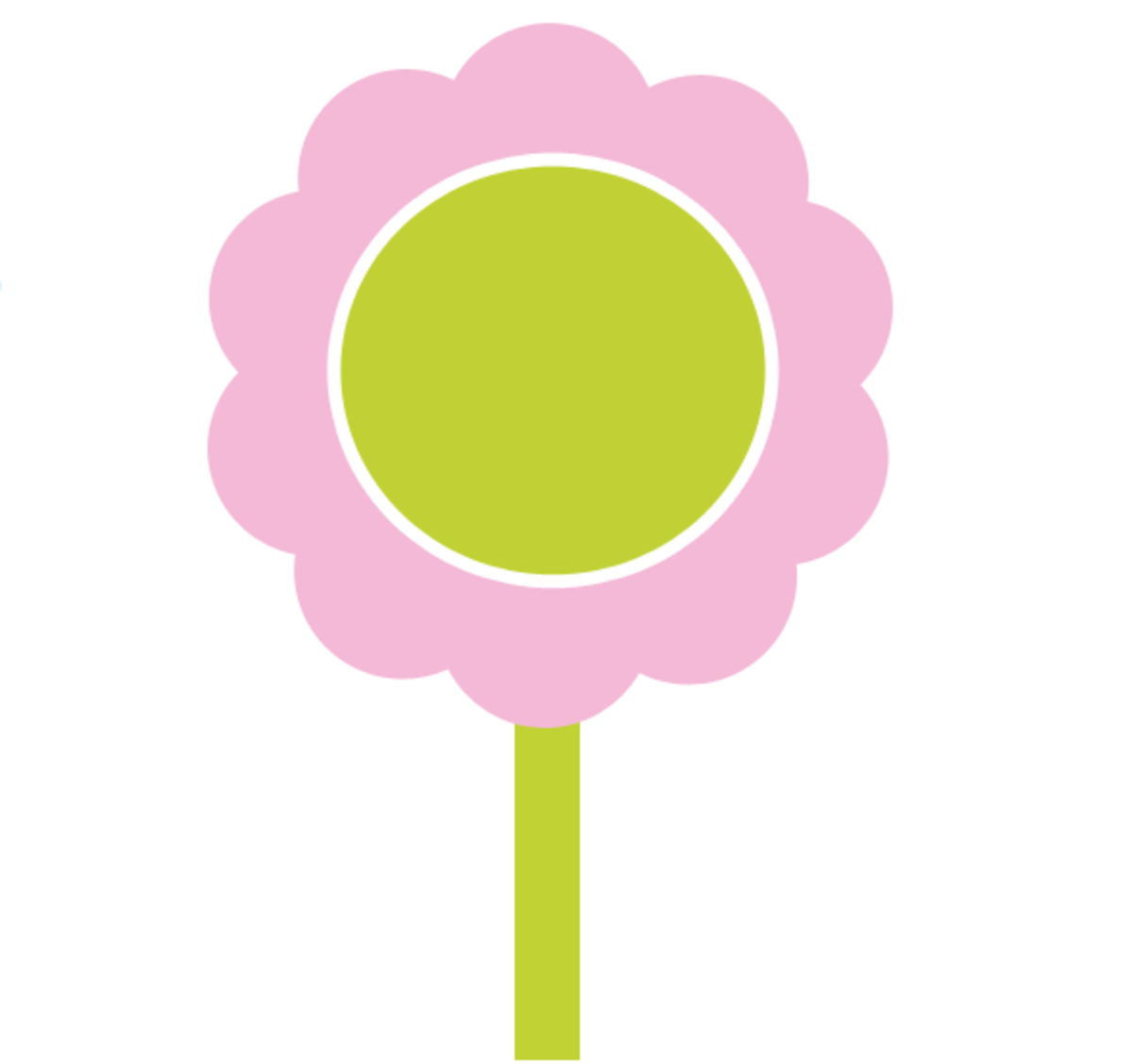 Pink Flower Spring Clipart
