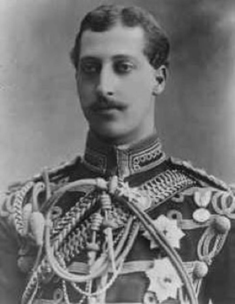 Prince Albert Victor 1864-1892