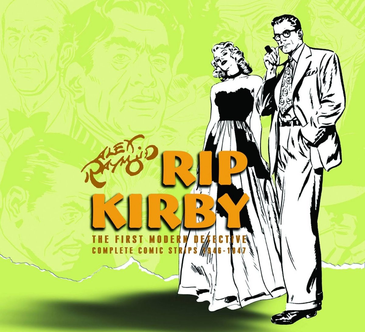Rip Kirby Vol. 2 ( Collected Daily Strips from December 6, 1948 through September 22, 1951) IDW