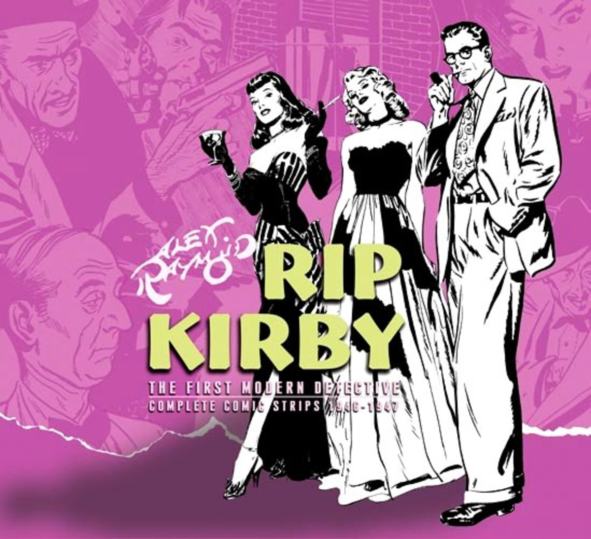 Rip Kirby Vol. 3 ( Collected Daily Strips from  September 24, 1951 through April 17, 1954) IDW