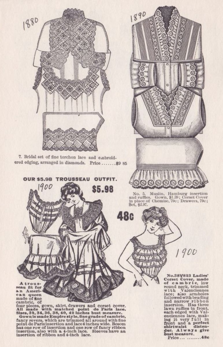 VICTORIAN TROUSEAU AND BRIDAL SETS