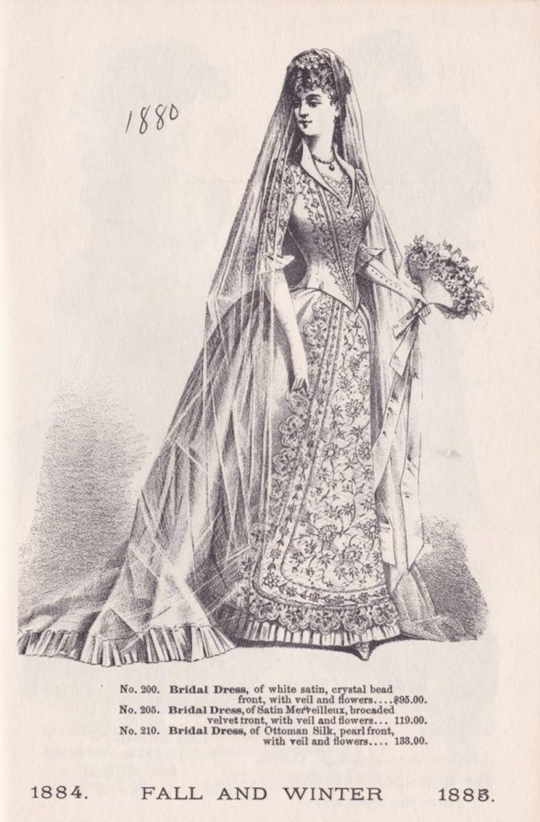 VICTORIAN WOMEN'S DRESSES