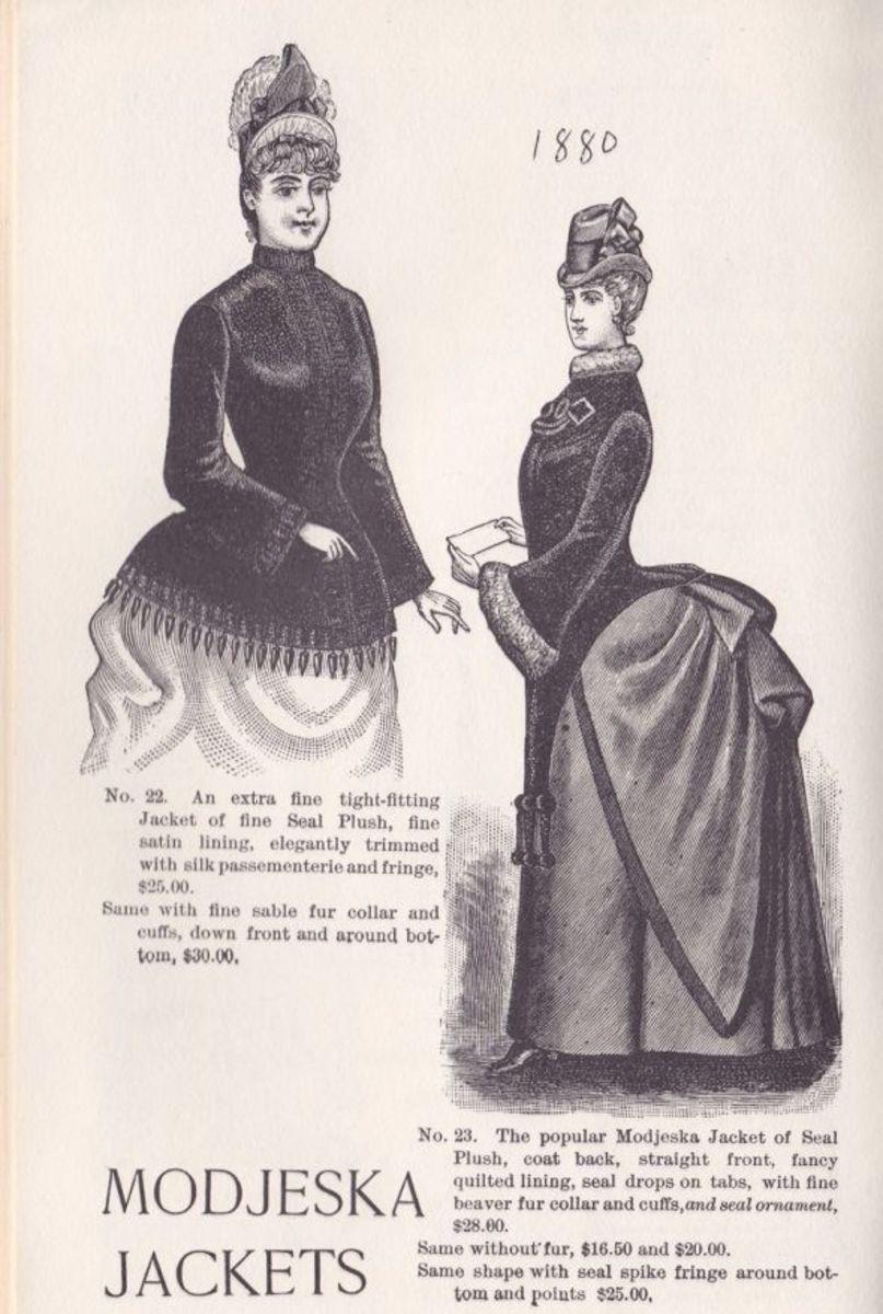 VICTORIAN WOMEN'S COATS