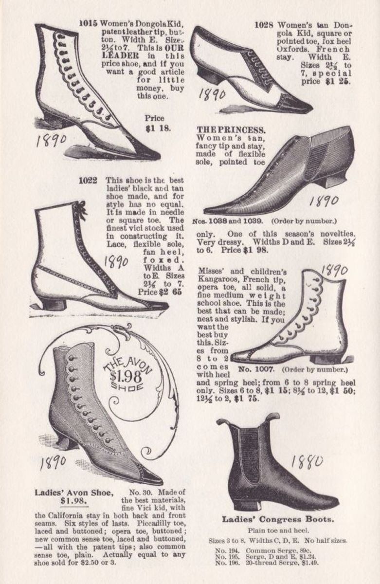 VICTORIAN WOMEN'S SHOES