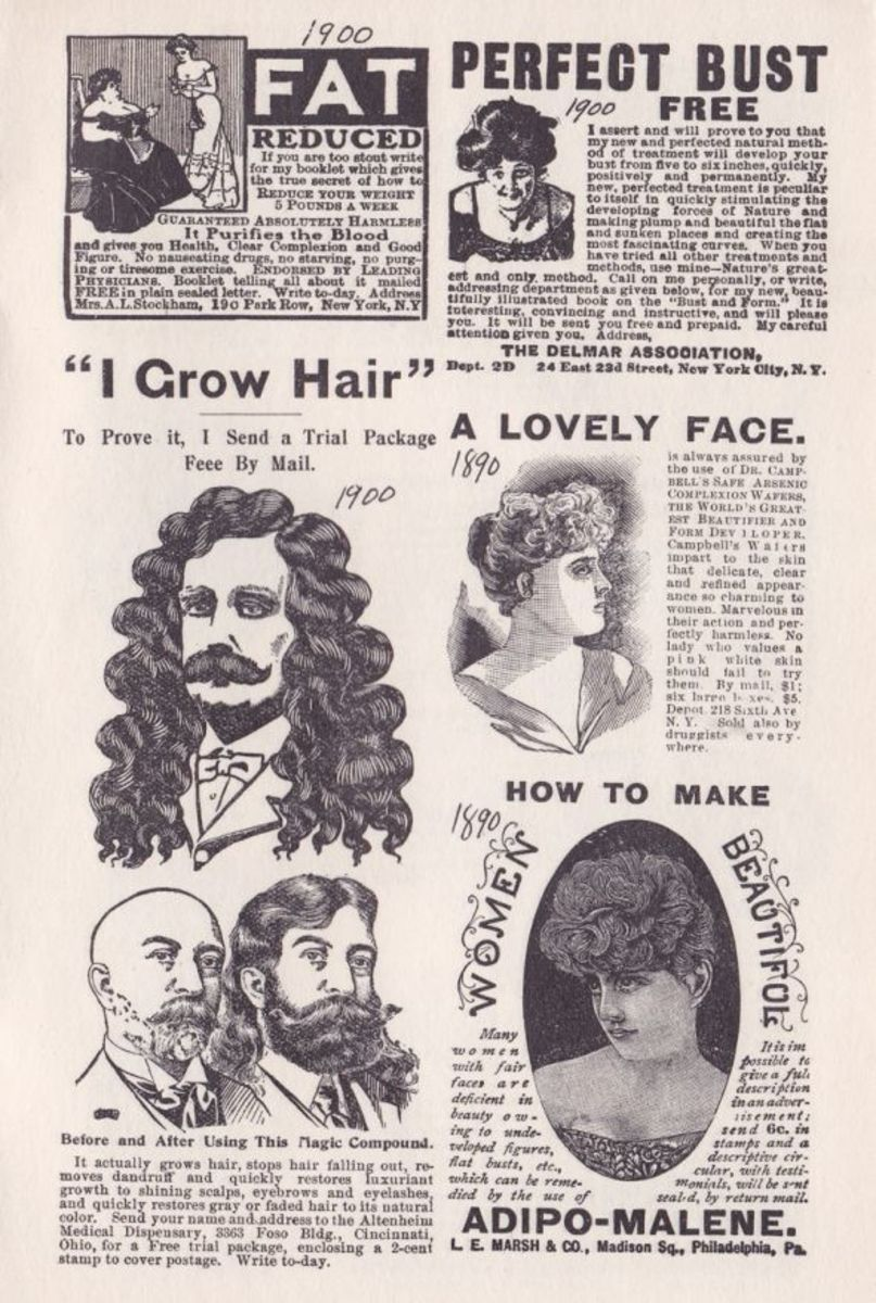 VICTORIAN BEAUTY AIDS