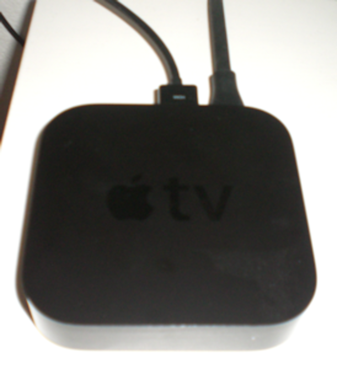 Apple TV in use.
